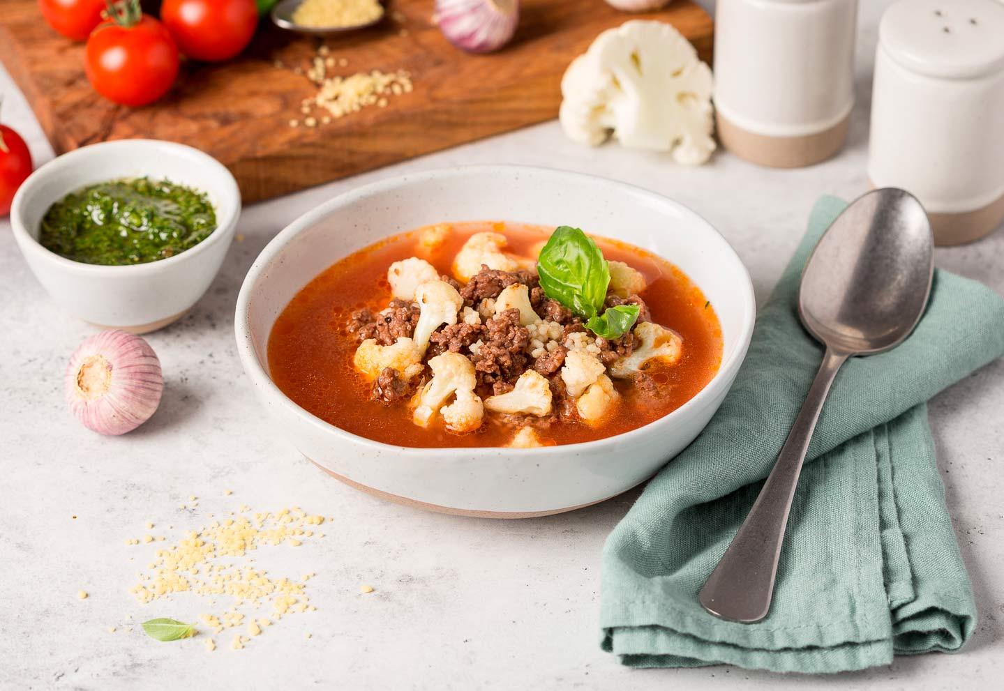 Итальянский мясной суп