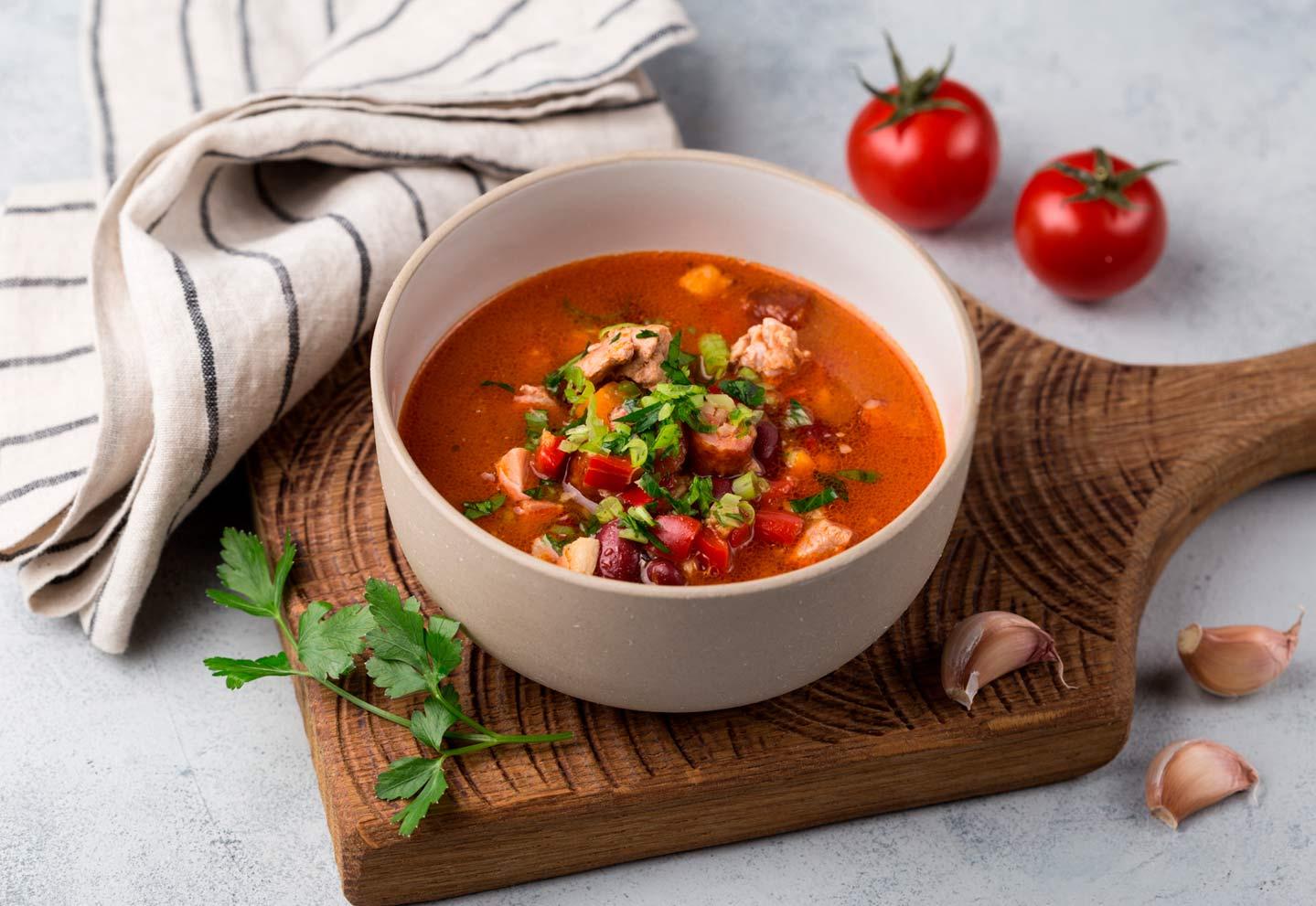 Густой тосканский суп