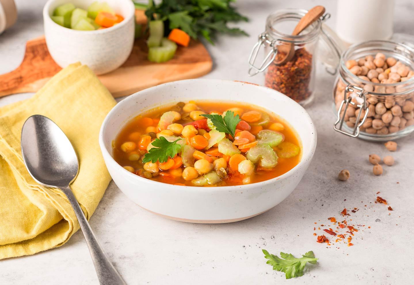 Марокканский овощной суп