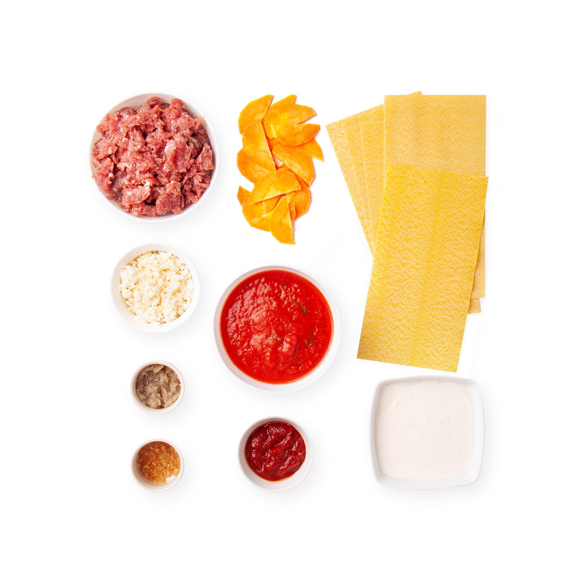 Лазанья болоньезе | На 2-3 порции