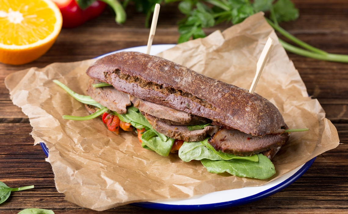 Сэндвич с уткой