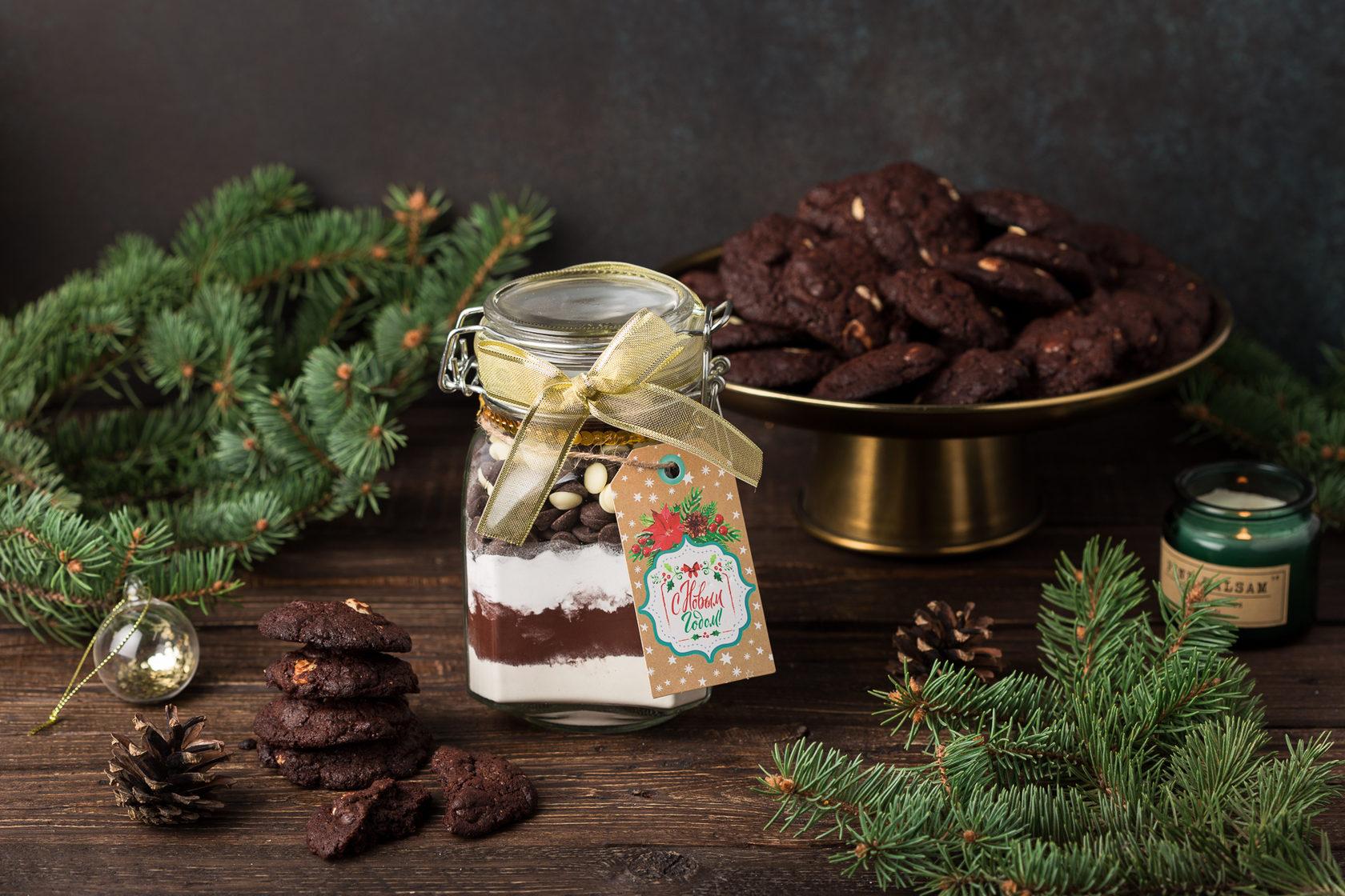 Шоколадные кукис, 1 кг