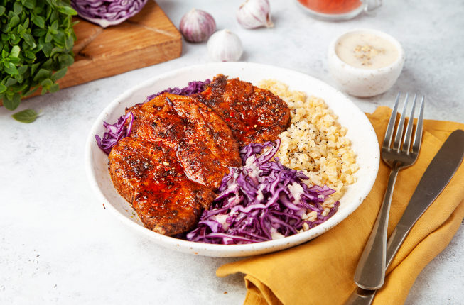 Мясо по-каджунски