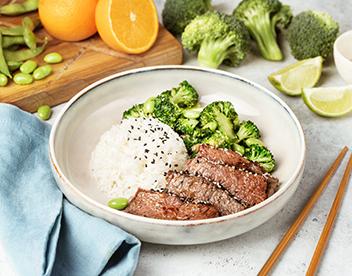 Японское татаки из говядины