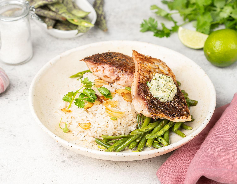 Рыба в лаймовом соусе
