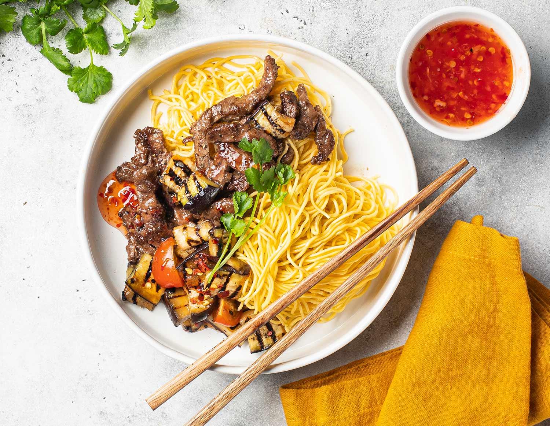 Говядина с китайскими