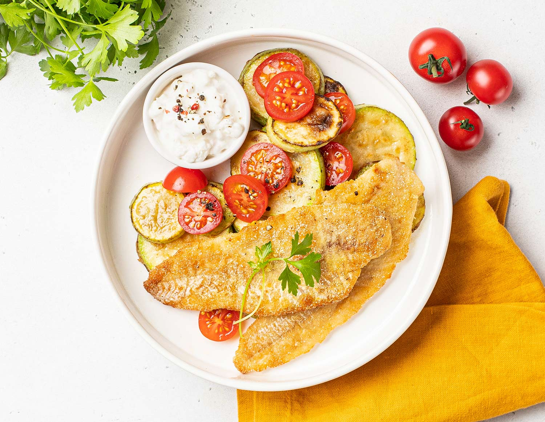 Рыба с золотой корочкой