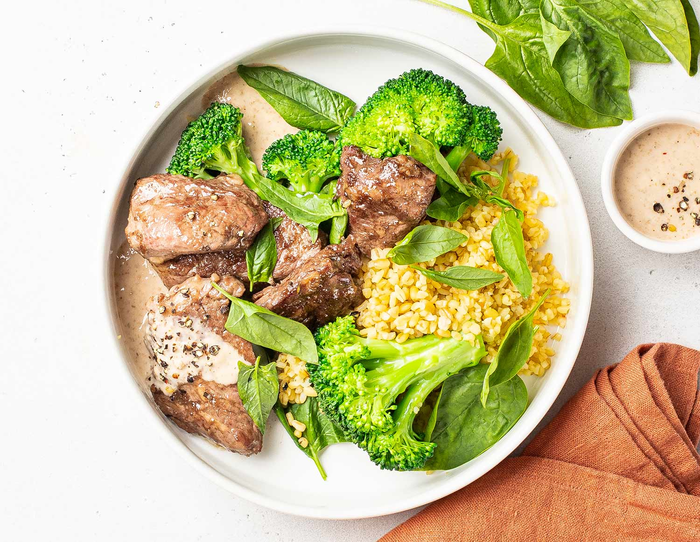 Говядина с брокколи