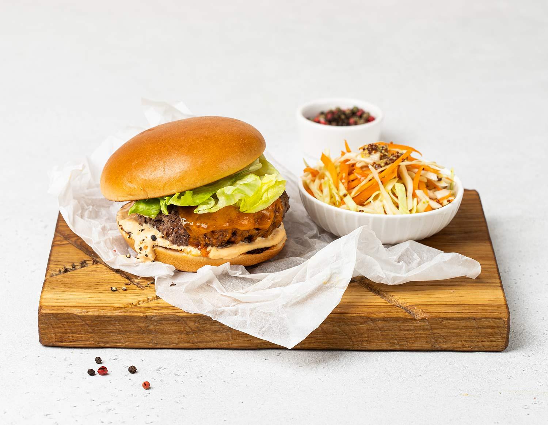 Дабл-чиз бургеры
