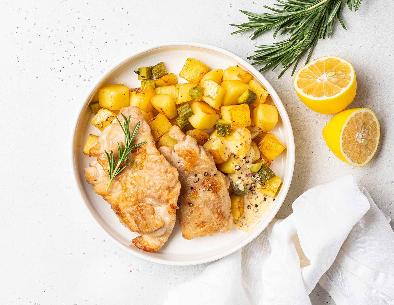 Лимонная курица