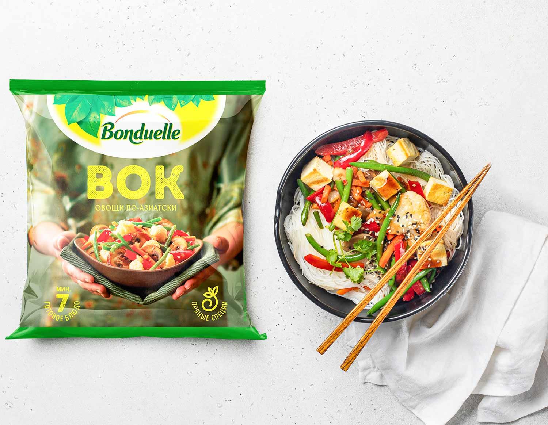 Вок c овощами Bonduelle