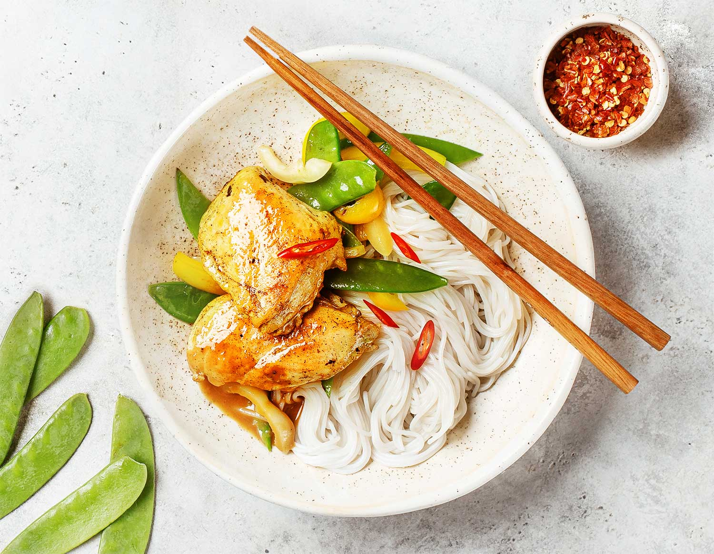 Курица по-малайзийски
